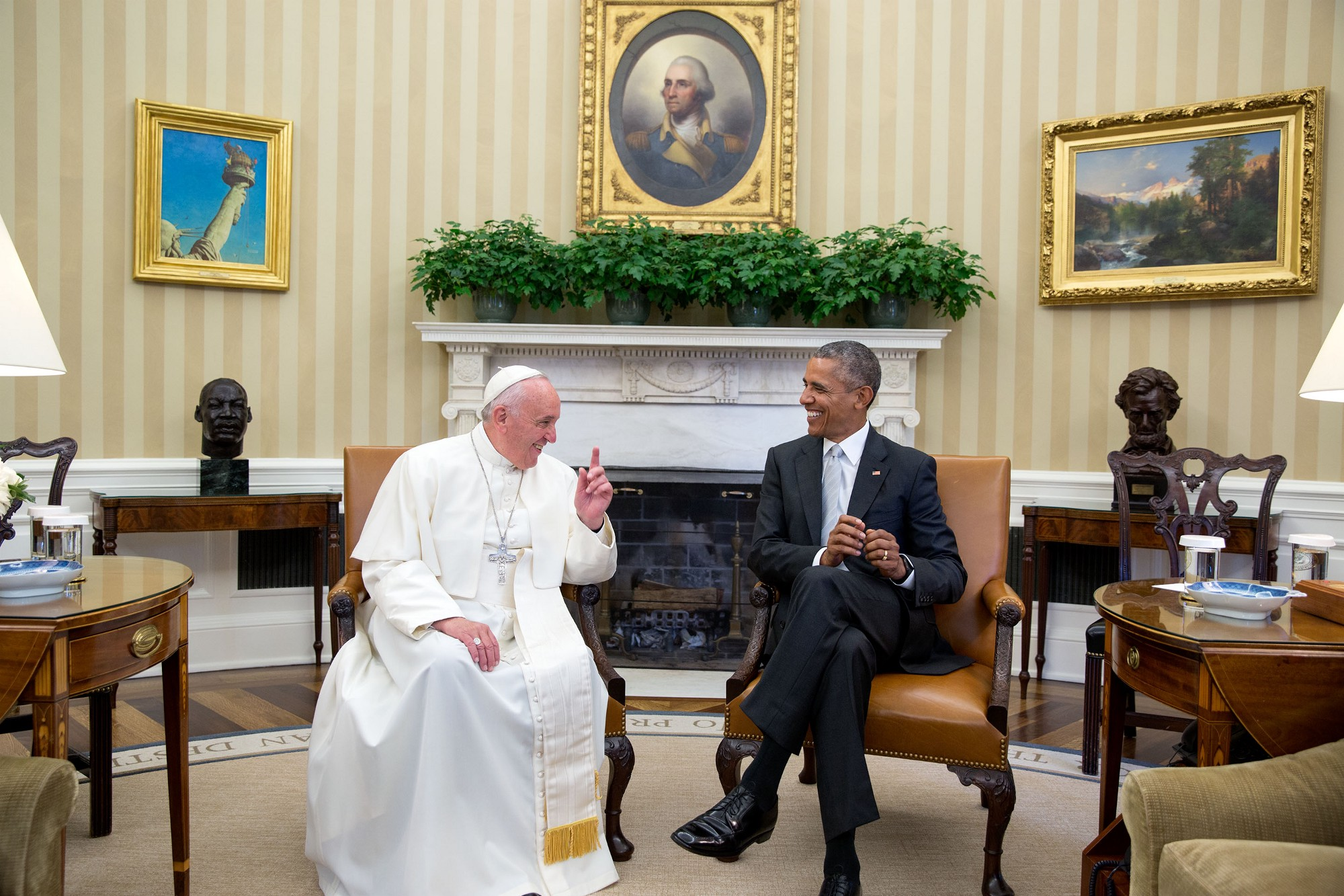 In Photos Pope Francis Visits the White House whitehousegov