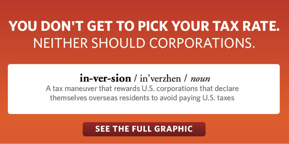 You don't get to pick your tax rate. Neither should corporations.