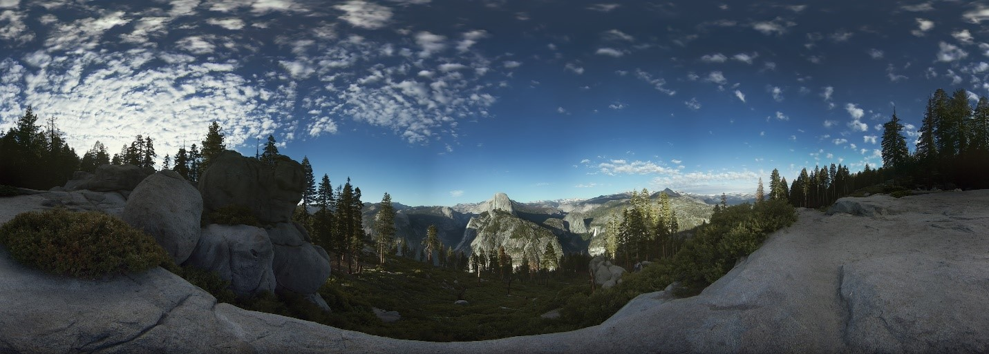 Glacier Point at Yosemite