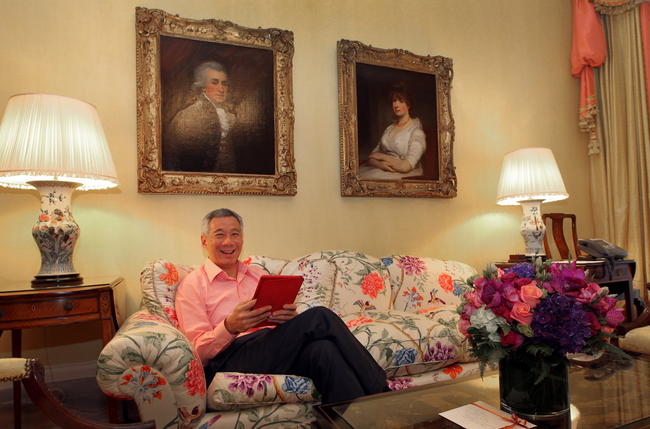 Prime Minister Lee at the Blair House