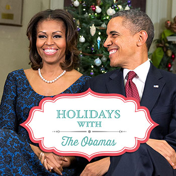 Holidays with the Obamas