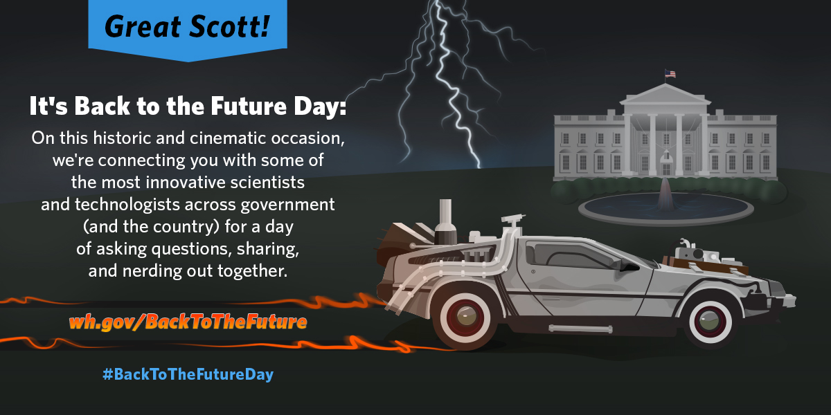 Great Scott! Today's Back to the Future Day!